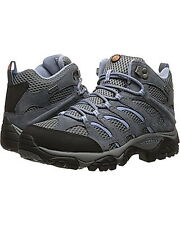 Merrell Womens Hiking Shoes Boots Moab Ventilator Grey NIB  All Sizes  Free Ship