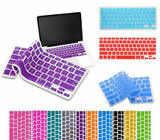 """NEW Soft Silicone Keyboard Cover Skin Protector for MacBook Air Pro 13″ 15"""" iMac"""