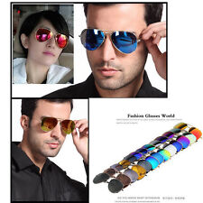 Unisex Women Men Vintage Retro Fashion Mirror Lens Sunglasses GlassesFR
