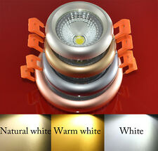 5pcs COB Recessed Ceiling Panel Down Led Light Bulb Lamp White/Warm/Naturally W