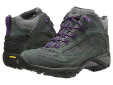 Merrell Womens Hiking Boots Siren Mid NIB Waterproof All Sizes Granite Free Ship