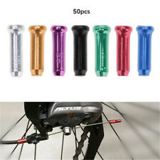 50pcs MTB Bike Bicycle Derailleur Brake Shifter Inner Cable Tips Wire End Caps