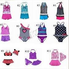 Kids Baby Girls Bikinis Set Swimwear Swimmers Bathers Swim Suit Swimsuit Tankini