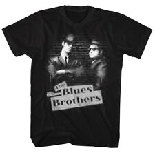 Blues Brothers Tag Mens Crew Tee T Shirt