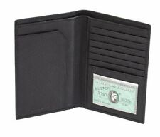 Men's Leather RFID Passport Holder Travel ID Cover Credit Card Protector Wallet
