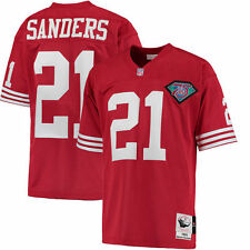 Deion Sanders Mitchell & Ness San Francisco 49ers Football Jersey - NFL
