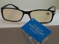 COMPUTER READING GLASSES ANTI REFLECTIVE TINTED LENS UV PROTECTION 1.50