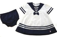 Sailor Dress & Pants Romany Spanish Style Outfit by Rock A Bye Baby Boutique