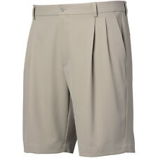 Greg Norman Mens Double Pleated Shorts