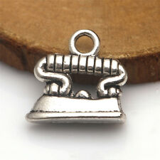 10-100pcs 18x17mm Antique Silver Tibet Electric Iron Charms Pendant Jewelry