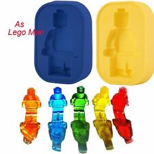 Silicone Robot Man Ice Tray Candy Jelly Chocolate Cake Cookie Mold DIY Y GF