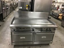 """Garland G60-G60CC - 60"""" Griddle Top Range w/Double Convection Oven Base - Refurb"""