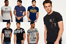 New Mens Superdry T-Shirts Various Styles & Colours
