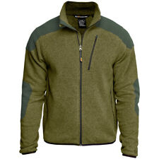 5.11 Tactical Mens Fleece Full Zip Jumper Warm Breathable Sweater Field Green OD
