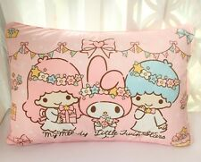 Little Twin Stars,My Melody,Hello Kitty Soft Coral Fleece Pile Pillow Case