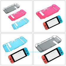 NEW Hard Crystal Clear Protective Skin Case Cover for Nintendo Switch Console