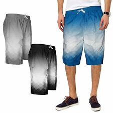 MENS SWIMMING SHORTS TRUNKS BOARD MESH LINED ZIP POCKETS SUMMER BEACH HOLIDAY