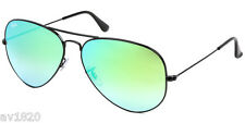 NEW AUTHENTIC RAY BAN RB3025-4 AVIATOR PILOT CRYSTAL METAL 100%UV MADE IN ITALY