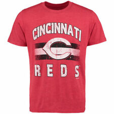 Cincinnati Reds Majestic Threads Mens Exclusive  T-Shirt - Red
