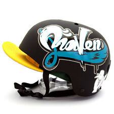 Motorcycle Helmet Decal Sticker Snowboarding Biker Hard Hat - Design RAVEN 03