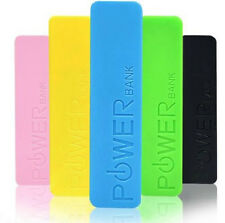 Portable 2600mAh External Power Bank Backup USB Battery Charger For Mobile Phone