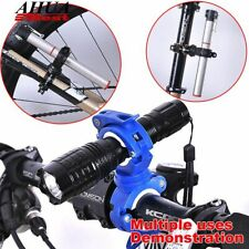 Bike Cycle Bicycle Light Front Strengthen Torch LED Flashlight Mount Holder