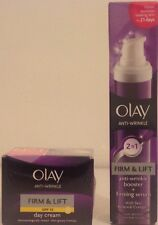 Olay Anti-Wrinkle Firm & Lift - Day Cream 50ml (SPF 15) Or 2 in 1 Serum 50ml