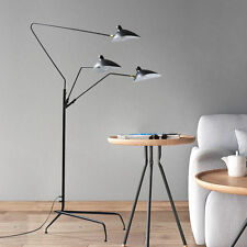 Three Arm Floor Lamp Standing Lamp Office Reproduction of Serge Mouille 210cm