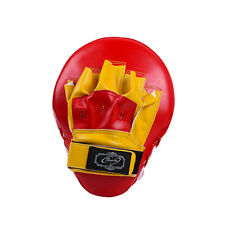 Curved Focus Pads Mitts Punch Bag Kick Boxing Muay Thai MMA Fight Training Glove