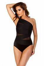 Miraclesuit Network Jenaah Slimming Swimsuit One Shoulder Strapped Shapewear