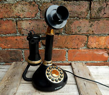 Vintage Replica Candlestick Telephone Antique Style Home Phone Working