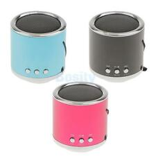 Portable Wired 3.5mm USB Mini Stereo Speaker TF/FM Radio for Outdoor PC