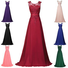 Vintage 1950s Lace Evening Formal Party Ball Gown Prom Bridesmaid Pageant Dress