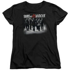 Sons Of Anarchy Rolling Deep Womens Short Sleeve Shirt