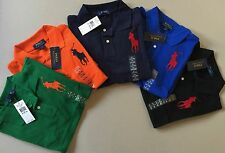 Ralph Lauren Polo Big Pony Polo Shirt Kids Youth Size S M L XL Ages 8-14 Genuine