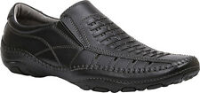 GBX STRITE Mens Black Slip-On Loafer Casual Walking Shoes