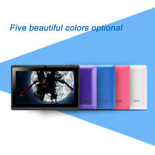 "iRULU 7"" Tablet PC Android 4.4 8G Quad Core WIFI Touch Screen PAD Colorful New"
