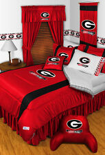NCAA Georgia Bulldogs Sidelines Comforter & Sheet
