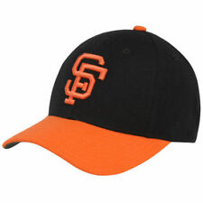 San Francisco Giants American Needle MLB Cooperstown Fitted Cap Headwear - Black