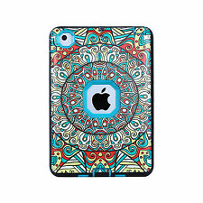 Floral Patterned Shock Absorption Heavy Duty Hard Case Cover for iPad mini 1 2 3