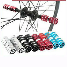 Aluminum Alloy BMX Mountain Bike Foot Pegs Bicycle Hexagonal Axle Pedal Stunt