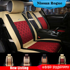 For Nissan Rogue 2014-2016 Comfort Zebra Car Seat Cover 5-seat Ice Silk Z16B8