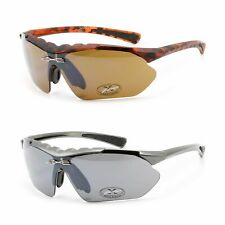 XLoop Sports Sunglasses for Men - Cycling Baseball Fashion Shades Plastic Frame