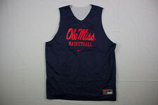 Nike Ole Miss Rebels  - Navy/White Reversible  Jersey (Multiple Sizes) - Used