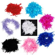 6.6 Feet Soft Fluffy Feather Boa Fluffy Wedding Party Craft Decor Dress Up