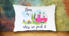 Cute Camper RV Pillow Case Camping Vintage Travel Trailer Motorhome Gift
