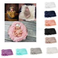 DIY Unisex Baby Anniversary Photo Props Backdrop Newborn Wrap Beanie Blanket Hot
