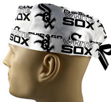Men's Adjustable, Fold-Up Surgical Scrub Hat in Chicago White Sox