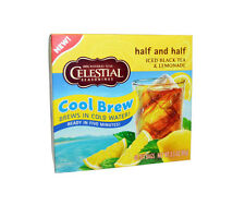 12 Boxes Celestial Seasonings COOL BREW ICED TEA - (480 Bags Total)-0$ Shipping