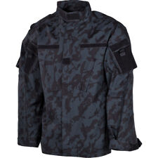 MFH Mens ACU Ripstop Uniform Shirt US Army Combat Long Sleeve Jacket Night Camo
